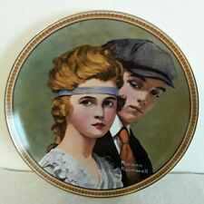 Norman Rockwell Plate  Meeting on the Path 5th plate free when you buy 4