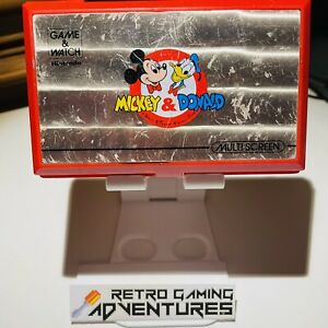 Nintendo Game & Watch - Mickey and Donald - DM-53 - Used, Working