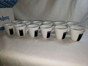 12x Case Lavazza Blu Collection Espresso Demitasse Cups/ Mugs - 2 Ounce - NIOB