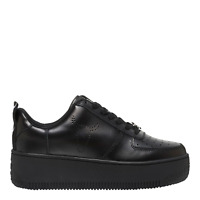 Windsor smith - Sneakers donna nera di pelle RACERR