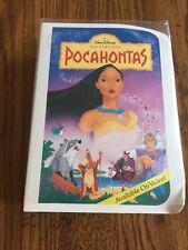 Pocahontas Disney Masterpiece Collection McDonalds Happy Meal Toy