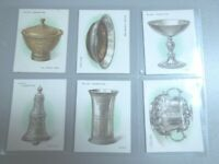 1924 Wills OLD SILVER silverware set 25 cards Tobacco Cigarette