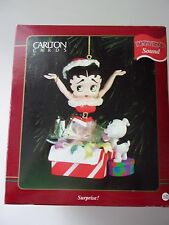 Carlton Cards Surprise Betty Boop Christmas Ornament Dated 1997 NIB