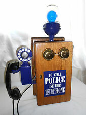 WESTERN ELECTRIC POLICE Call Box Telephone Antique Phone Fire Gamewell Old
