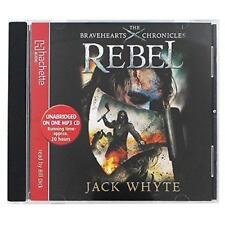 Rebel by Jack Whyte (The Bravehearts Chronicles) -  MP3 Audio CD unabridged NEW