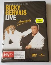 Ricky Gervais - Live : Animals DVD, 2006 (#DVD01539)