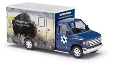 "Busch 41848 - 1/87/h0 FORD e-350 Ambulance-Wyoming Medical Center ""Bison"""