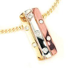 Halsketten und Anhänger aus mehrfarbigem Gold mit P1-Reinheit für Damen