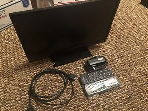 "Insignia 13"" HDTV/Computer Monitor w/ Extra Brand New Remote"
