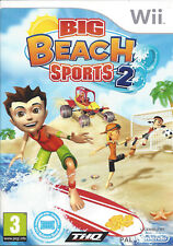 BIG BEACH SPORTS 2 for Nintendo Wii - with box & manual - PAL