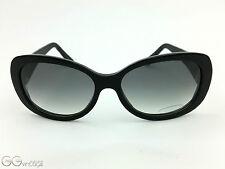 Cartier Janis WOMAN BLACK SUNGLASSES OCCHIALI DA SOLE PLASTIC FRAME CASE BOX + PAPER