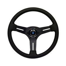 MK1 GOLF CABRIO Steering Wheel, Nardi Competition, Black Leather, 330mm