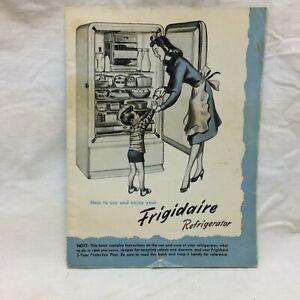 Vintage 1940's Frigidaire Booklet
