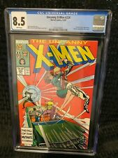 Marvel Comics UNCANNY X-MEN # 224 CGC 8.5 Freedom Force App - w/ insert