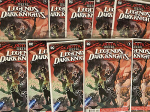 Dark Nights - Legends of the Dark Knights #1 2nd Print - LOT OF 10 Issues ! 🔥