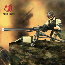 1:6 Browning M2 MACHINE GUN Model Military Army Assembly Toy for Action Figure