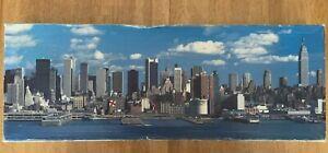 Vintage FX Schmid Puzzle 7500 New York City Skyline Sealed Bags Complete 98851
