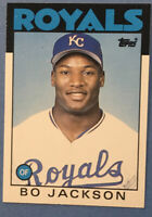 1986 Topps Traded #50T BO JACKSON XRC (Topps Traded Rookie Card)