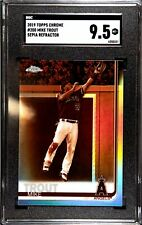2019 Topps Chrome - Mike Trout Sepia Refractor SGC Mint + 9.5 - Comp BGS 9.5 LAA