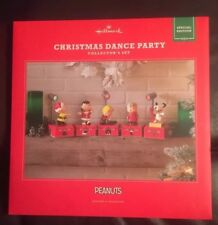 Hallmark Peanuts Christmas Dance Party Special Edition Collector's Set, 8 Pieces
