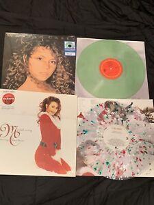 Mariah Carey RARE Glass Bottle Vinyl, Target Christmas Splatter 2020 SEALED New