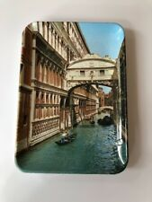 Venice Italy, Bridge of Sighs, Rio di Palazzo, Vintage Change Ash Trey, Europe