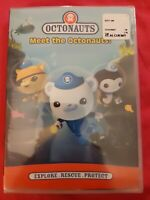 Octonauts:Meet the Octonauts(DVD,2014) brand new includes 3 action-packed movies