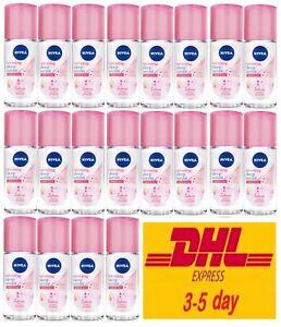 20x Nivea Whitening Deep Serum White & Firm Sakura Deodorant Roll On Female 40ml