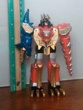 Power Rangers Dino Thunder Thundersaurus Megazord Action Figure Red Ranger Zord