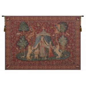 A Mon Seul Desir I French Tapestry Wall Hanging