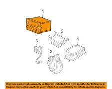 Buick GM OEM 99-00 Regal-Stereo Audio Radio Dash Head Unit 10321326