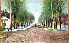 1910 Napanee Postcard: Piety Hill - Napanee, Ontario, Canada