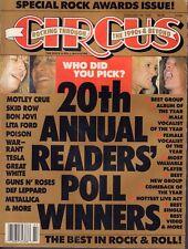 Circus February 28 1990 Motley Crue, Lita Ford, Bon Jovi 110717nonDBE