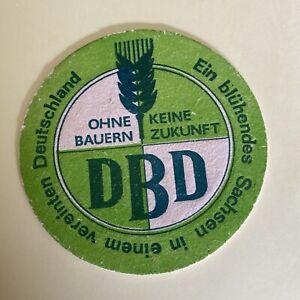Bierdeckel DDR Werbung Rar