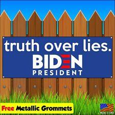 BIDEN 2020 Vinyl Banner Sign Flag Advertising w/ grommets PRESIDENTIAL JOE