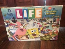 2005 The Game Of LIFE Spongebob Squarepants Nickelodeon Hasbro New Sealed!