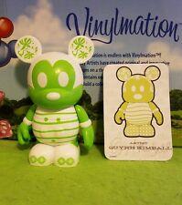 "Disney Vinylmation 3"" Park Set 2 Urban Green Tea Chaser with Card"