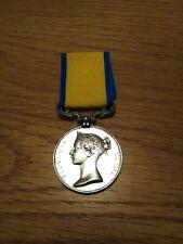 More details for british navy genuine baltic medal 1854-55 full size