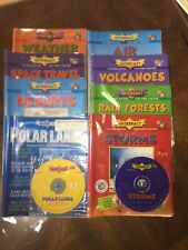 8 New Interfact Books/Cd Rom for Pc & Mac Compatible