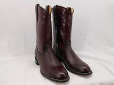 Rodeo Drive Rd855 Womens 5.5 M Genuine Leather Vintage Old Western Boots Red New