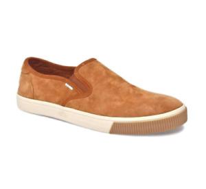 TOMS Men's Baja Nubuck Loafers Carmel Brown