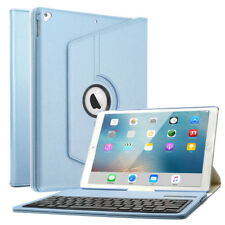 For 12.9-inch iPad Pro: 360° Rotating Bluetooth Keyboard Leather Case Cover