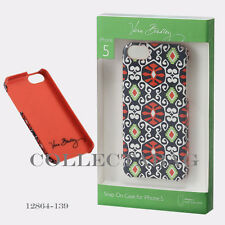 Authentic Vera Bradley Sun Valley Snap Case for iPhone 5   12864-139