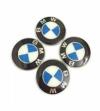 4x BMW 55mm Silikonaufkleber Felgendeckel Radnabenkappen Emblem