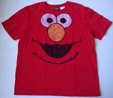 MEN'S SESAME STREET ELMO FUNNY T shirt size XL