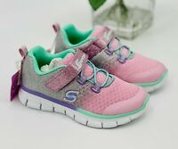 "NEW Skechers ""Bethanie"" Toddler Girls' Sneakers Size 7 Athletic Shoes Pink"