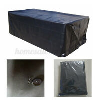 7/8/9ft Outdoor Pool Snooker Billiard Table Cover Polyester Waterproof Dust Ca