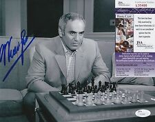 Garry Kasparov In-Person Signed 8x10 Photo w/ JSA COA #S30466 Chess Legend