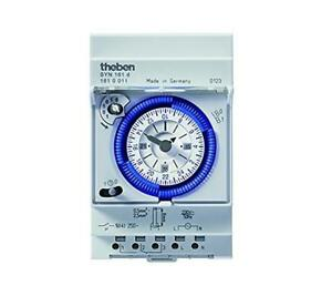 Theben analoge Zeitschaltuhr SYN161d Tagesprogramm für Hutschiene 3 TE