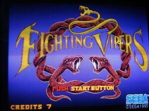 Fighting Vipers ORIGINAL ROM KIT for Sega ARCADE non JAMMA Model2B PCB & ARTWORK